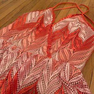 Brand New! Lacy Maxi Dress